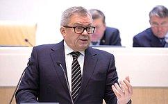 Академик РАН В.Панченко рассказал сенаторам обосновных направлениях развития аддитивных технологий