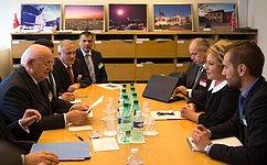Важно восстановить парламентский диалог между Россией иТурцией— В.Матвиенко