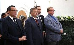 Н.Федоров принял участие вцеремонии освящения собора Благовещения Пресвятой Богородицы вЙошкар-Оле