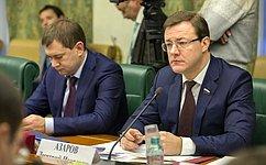 Д.Азаров выступил назаседании Комиссии Совета законодателей поинтеграции Республики Крым иСевастополя вправовую систему РФ