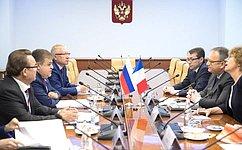 В.Джабаров: Франция– один изведущих партнеров России вЕвропе