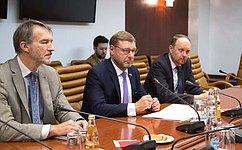 К.Косачев: Несмотря наразногласия, Россия иГермания сохраняют диалог инаходят взаимоприемлемые решения