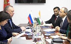 Россия иИндия активизируют межпарламентское взаимодействие— В.Тюльпанов