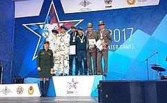 Т.Лебедева: III зимние Всемирные военные игры вСочи прошли навысоком международном уровне