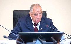 С. Митин: Профильный Комитет СФ держит наконтроле актуальные вопросы использования водных ресурсов вАПК