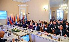 В. Матвиенко провела заседание Совета Межпарламентской Ассамблеи СНГ