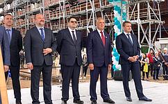 С. Митин: Сенаторы уделяют особое внимание вопросам обновления российского рыбопромыслового флота