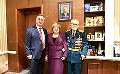 О. Хохлова: Глубокая благодарность ипоклон ветеранам, труженикам тыла заВеликую Победу