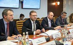 К.Косачев: Мы готовы квозобновлению диалога сЕвропарламентом