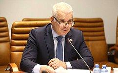 С. Мартынов отметил важность совершенствования системы госзакупок