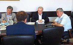 Народный Хурал Бурятии внес значительный вклад вукрепление парламентаризма врегионе— В.Наговицын