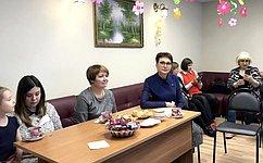 Т. Кусайко посетила Мурманскую общественную организацию многодетных семей иинвалидов