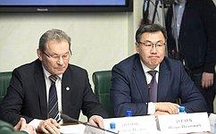 ВСовете Федерации обсудили вопросы природопользования иохраны окружающей среды наБайкальской природной территории