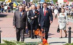 К.Косачев: ВЙошкар-Оле почтили память павших вгоды Великой Отечественной войны защитников Отечества