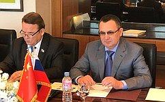 Н.Федоров: Важную роль врасширении деловых контактов сКНР призвана сыграть парламентская дипломатия