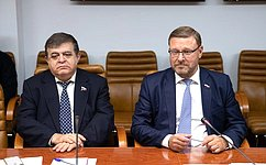Вопросы наблюдения завыборами наУкраине обсудили сенаторы испецпредставитель ПА ОБСЕ