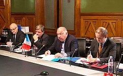 В.Матвиенко иПредседатель Сената Парламента ФранцииЖ.Ларше обсудили межпарламентское сотрудничество