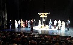 Театры играют большую роль всохранении культуры, традиций иязыков народов России– Л. Гумерова