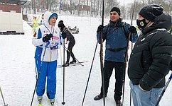 И. Святенко: Спартакиада полыжным гонкам— возможность набраться сил иукрепить здоровье