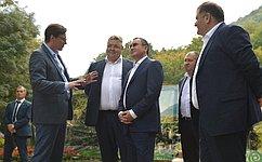 Н.Федоров: При благоустройстве города-курорта Железноводска задаются самые высокие мировые стандарты