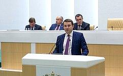 М. Орешкин представил сенаторам прогноз социально-экономического развития РФ на2019год инаплановый период 2020 и2021годов