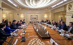 Состоялось заседание групп посотрудничеству Совета Федерации иСената Французской Республики