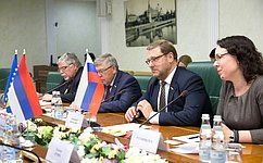 К.Косачев: Отношения народов России иРеспублики Сербской (Босния иГерцеговина) характеризуются искренней симпатией идружбой