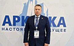 Д. Гусев рассказал обопыте Ненецкого автономного округа пореализации проектов, направленных нараскрытие потенциала Арктики