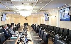 Состоялось заседание рабочей группы СФ помодернизации законодательства вобласти развития потребительской кооперации