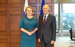 Л.Гумерова: Совет Федерации плодотворно сотрудничает сВсемирной организацией интеллектуальной собственности