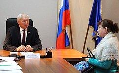 Н. Тихомиров провел вВологде прием граждан поличным вопросам