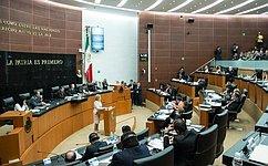 В. Матвиенко: Пришло время для отмены виз между Россией иМексикой