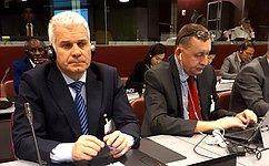 Руководитель Аппарата СФ С.Мартынов принимает участие взаседании Ассоциации генеральных секретарей парламентов
