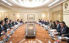 Председатель СФ В. Матвиенко провела встречу сПредседателем Национального совета Словакии А. Данко
