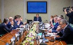 А.Майоров провел заседание Комитета СФ поаграрно-продовольственной политике иприродопользованию