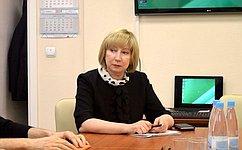 Р. Галушина вНенецком автономном округе приняла участие вобсуждении вопросов продвижения региональных брендов