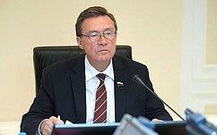 С.Рябухин провел совещание поакцизам набензин идизельное топливо