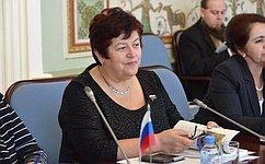 Л. Козлова провела заседание межведомственного образовательного семинара «Проблемы аутизма ипути их решения»