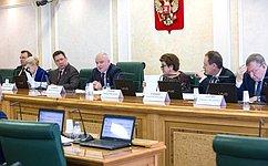 Проект постановления палаты опорядке рассмотрения проекта закона РФ опоправке кКонституции рассмотрел профильный Комитет СФ