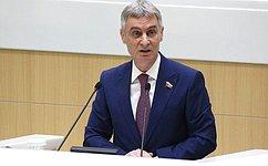 Совет Федерации заслушал информацию полномочного представителя СФ вМинистерстве юстиции РФ оработе за2020год