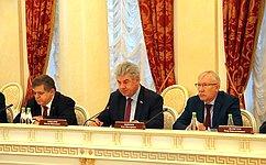 ВКазани состоялась третье совместное заседание профильных комитетов Совета Федерации иСената Парламента Республики Казахстан