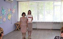 Е.Попова поздравила сотрудников волгоградских социальных центров сДнем социального работника