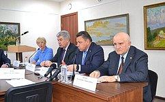 ВКировской области сучастием сенаторов состоялось обсуждение основных тезисов Послания Президента Федеральному Собранию