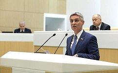 С.Фабричный рассказал освоей работе вкачестве полномочного представителя Совета Федерации вМинистерстве юстиции РФ