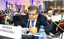 В. Джабаров: ОБСЕ должна восстановить вомногом утраченные функции площадки равноправного диалога повопросам безопасности