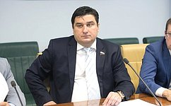 А. Коротков провел заседание рабочей группы повопросам малого исреднего предпринимательства при Комитете СФ поэкономической политике