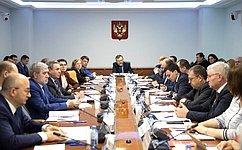 ВСовете Федерации прошло совещание, посвященное повышению эффективности участия граждан восуществлении местного самоуправления