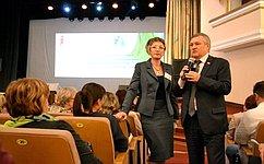 Взаимодействие семьи ишколы играет важную роль— С.Михайлов