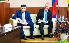 В. Наговицын: Предложения муниципалитетов Бурятии должны быть учтены вработе нафедеральном уровне