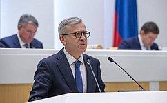 Сенаторы одобрили закон особлюдении режима противодействия финансированию распространения оружия массового уничтожения